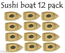 BRAND NEW Wei Melamine Sushi Boat Serving Plate 12 PACK WITH BONUS REBATE