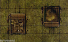 Dungeons & Dragons HAY and SUPPLY WAGONS Gamemastery Pathfinder D&D Tiles - V7