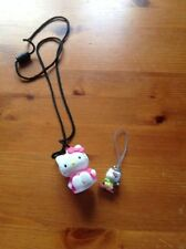 Hello Kitty Neck Toy And Phone Charm
