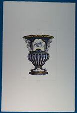 Jules  Jacquemart Hand Colored Imp Delatre Paris 113 02 PL II Print