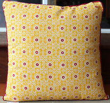 Tuscan Style Cotton  Cushion w insert   45cm x 45cm    BRAND NEW   * REDUCED *