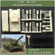 【1/144 TANK】SU-152 self-propelled heavy howitzer  (RESIN KITS)