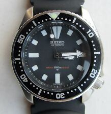 SEIKO 150M DIVERS AUTOMATIC MID SIZE WATCH 4205-015T, BLACK