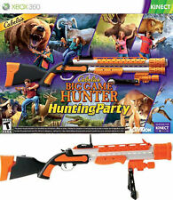 NEW Cabela's Big Game Hunter: Hunting Party XBOX 360 Game Bundle w/GUN kinect