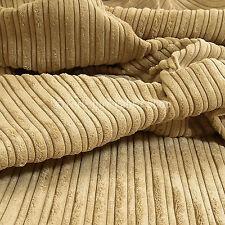 Cortinas De Tela De Tapicería sofás nuevo suave de alta calidad de terciopelo bajo Pana Beige