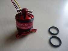 Brushless Motor M2028 KV2300 slow flyer, Multicopter