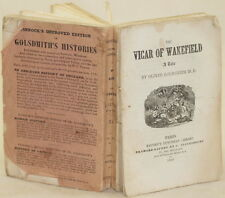 OLIVER GOLDSMITH THE VICAR OF WAKEFIELD 1863 ROMANZO ILLS VICARIO