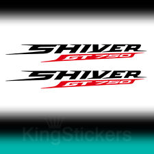 2 ADESIVI Aprilia SHIVER GT 750 sticker decal moto stickers