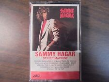 "NEW SEALED ""Sammy Hagar"" Street Machine  Cassette Tape   (G)"