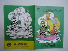 Lurchis Abenteuer Das erste MALBUCH von 1966 Salamander