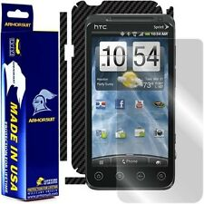 ArmorSuit MilitaryShield HTC EVO 3D Screen Protector + Black Carbon Fiber Film