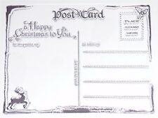 Marianne Design Christmas Postcard Clear Stamp CS0936  D