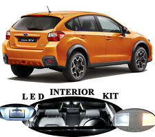 LED Package - Interior + License Plate + Vanity for Subaru XV Crosstrek (10 Pcs)