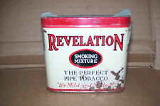 Vintage Revelation Pipe Tobacco Tin Can Philip Morris Co.New York London