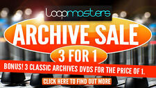 LOOPMASTERS Royalty Free Sample Packs - Buy ONE get THREE! Free UK P&P