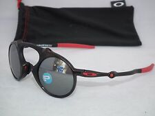 OAKLEY POLARIZED FERRARI  MADMAN OO6019-06 Dark Carbon / Black Iridium Polarized