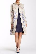 Tory Burch Beige Kensington Embellished Cotton Coat nwt $995