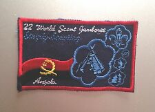 22ND World Scout Jamboree ANGOLA CONTINGENT BADGE 2011