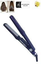 Herstyler Digital Titanium Hair Straightener Flat Iron, Violet