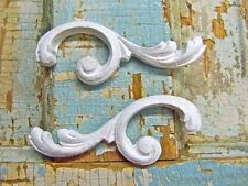 SHABBY & CHIC ARCHITECTURAL  SCROLLS * FURNITURE APPLIQUES