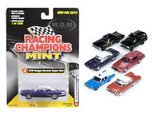 MINT RELEASE 2017 SET C SET OF 6 CARS 1/64 DIECAST BY RACING CHAMPIONS RC003C