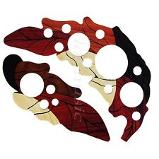 1 Pair Leaf Design Pickguard Acoustic Guitar Scratch Plate Self Adhesive Parts