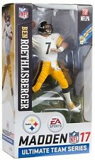 McFarlane Ultimate Team Madden NFL 17 Series 2 Ben Roethlisberger Steelers