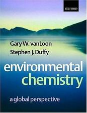 Environmental Chemistry : A Global Perspective -ExLibrary