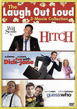 Fun With Dick & Jane/Guess Who/Hitch (DVD, 2015, 2-Disc)Sealed,Authentic,Comedy