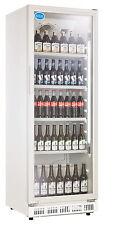 AG Gastro Kühlschrank Flaschenkühlschrank Glastür 360 Liter 620x635x1732mm weiß