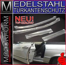 Mercedes SL SLC 107 W107 Türkantenschutz Schutzleisten EDELSTAHL 560SL 300SL 280