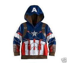 Captain America Hoodie Boys Girls age  2 -3 years jacket sweater cardigan zipped