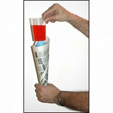 Free Shipping Comedy Glass in Paper Cone- Stage Magic