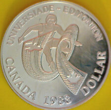 Uncirculated 1983 Canada $1 Silver Dollar - #1800