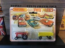 matchbox two pack TP-2A 1.Version mint OVP never open excellent 1975
