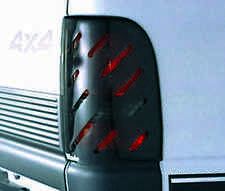 Slotted Smoke Tail Light Covers for 1999 - 2004 Jeep Grand Cherokee
