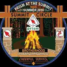 "Order of the Arrow Prism 4"" OA Patch - Summit Bechtel Reserve 2016"