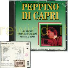 """PEPPINO DI CAPRI """"I PIU' GRANDI SUCCESSI"""" CD FUORI CATALOGO - SIGILLATO"""