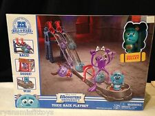 Monsters University Roll-A-Scare Toxic Race Playset NEW Exclusive Sulley Figure