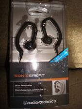 SONICSPORT IN-EAR HEADPHONES AUDIO-TECHNICA BLACK