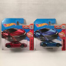 Lot of 2 Hot Wheels Acura NSX Honda NSX Non Treasure JDM Short Card *Rare*