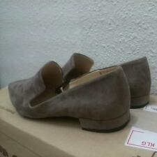 Zara Grey Metal Toe Flats EU39