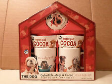 New ! The Dog Christmas Mug Gift Set Hot Cocoa/Coffee Glass Tea Cup & *Ornament*