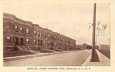 c.1910 Homes 25th St. from Baxter Ave. Elmhurst NY post card Queens