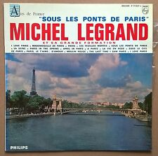 LP Michel Legrand Et Sa Grande Formation ‎– Sous Les Ponts De Paris 1965 Philips