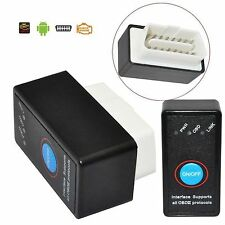 ELM327 Bluetooth OBD2 II Interface Auto Diagnostique Scanner Switch Pour Android