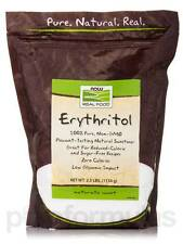 NOW� Real Food - Erythritol Natural Sweetener - 2.5 lbs (1134 Grams) by NOW