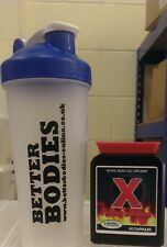RED X VERY STRONG FAT BURNERS WEIGHT LOSS DIET PILLS + PROTEIN BOTTLE SHAKER CUP