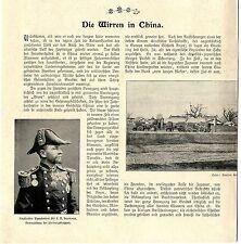 Die Wirren in China Peking Taku Tientsin Frhr.v. Ketteler der ermordete d...1900