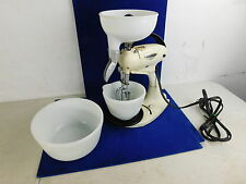 WORKS GREAT! Vintage Hamilton Beach Model G Mixer w 2 Bowls Beaters and Juicer